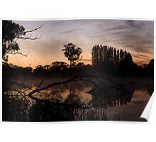 Sunrise at Gosling Creek Poster