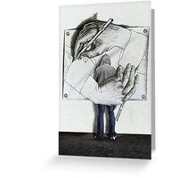 I love Escher Greeting Card