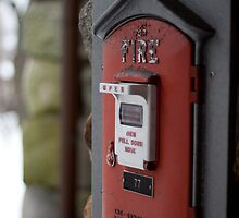 in case of a fire pull this by apsjphotography