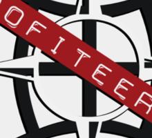 profiteering - sticker Sticker