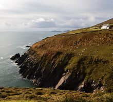 Irish cliffs and ocean view by LilouTravel