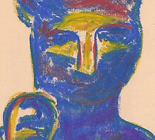 Bastet (pastel) by Niki Hilsabeck