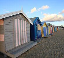 brighton beach by Nikki Vasiljuk
