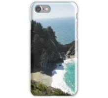 McWay Beach Waterfall iPhone Case/Skin