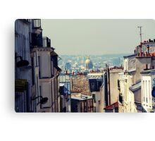 Montmartre skyline  Canvas Print