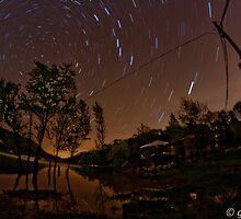 Star Trails in Ceceles by gilliw