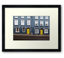 Irish windows Framed Print