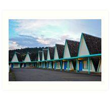 A-Frame Motel Art Print