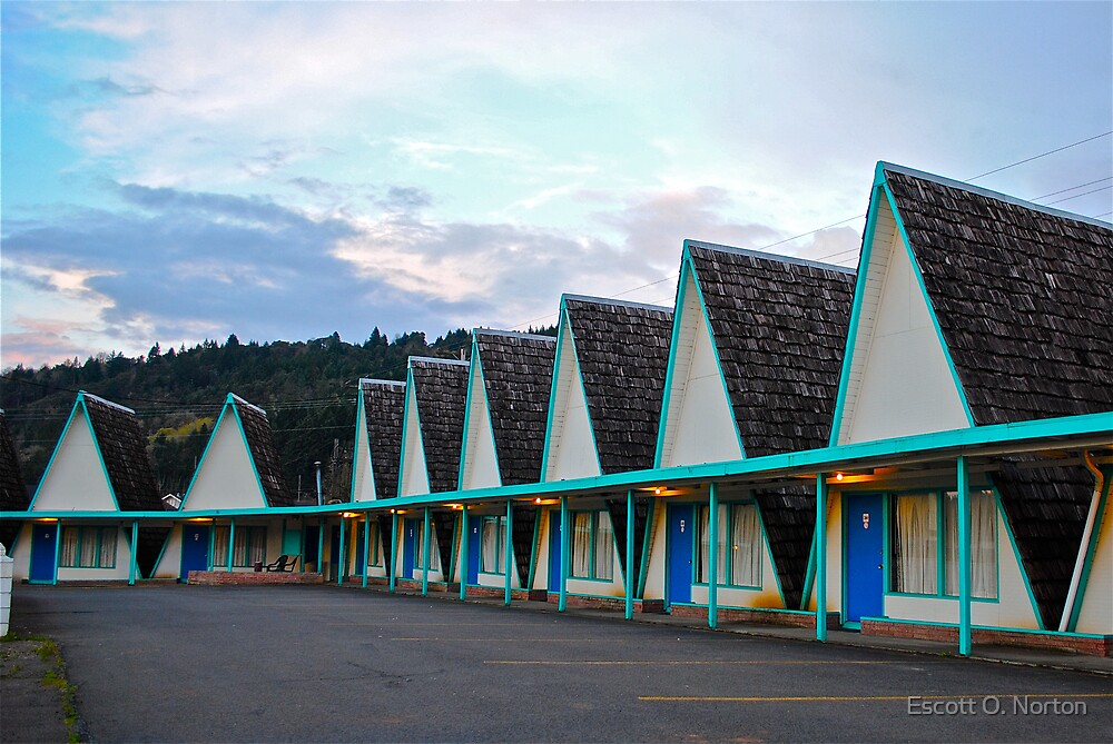 A-Frame Motel by Escott O. Norton