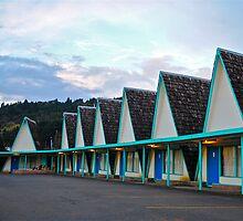 A-Frame Motel by Escott O. Norton