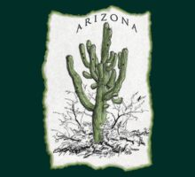 Arizona Saguaro tee by DAdeSimone