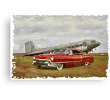 Red Cadillac Canvas Print