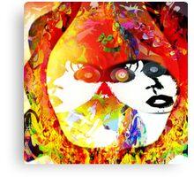 Psychedelic Heaven Canvas Print