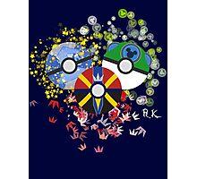 Kingdom Hearts Pokeball Photographic Print