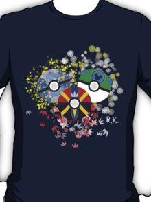 Kingdom Hearts Pokeball T-Shirt