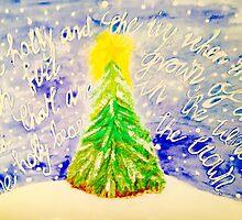 Christmas tree by Sarah -jane Pearce