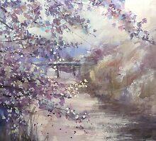 Cherry tree of my hometown…「故郷の桜」 by vasenoir