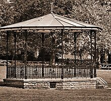 Bandstand, Oswestry by LydiaBlonde