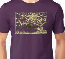 Nuremburg UFO woodcut Unisex T-Shirt