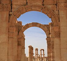 Palmyra, Syria by Justine Chesterman