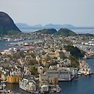 Beautiful city in Norway by julie08