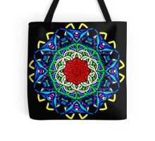 Wacky Lines Kaleidoscope Tote Bag