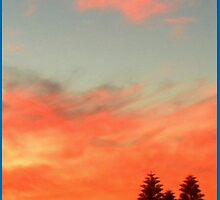 Sunset ... by Pieta Pieterse