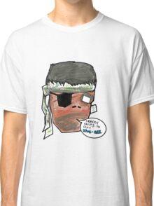 Metal Gear DEPRESSHEAD Classic T-Shirt