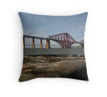 Forth Bridge Throw Pillow