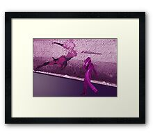 Let's dance - Graffiti Framed Print