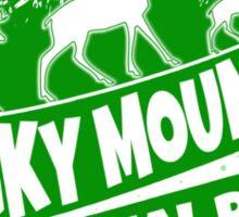 Rocky Mountain National Park Colorado green logo Sticker