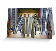 Up and down and up and down Greeting Card