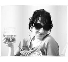 Beer Glasses.. Poster