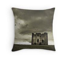 Burt Castle Throw Pillow
