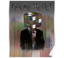 Figure Me Out text Poster