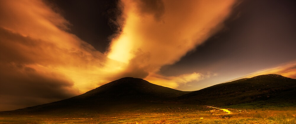 The Mourne Mountains by Neil Carey