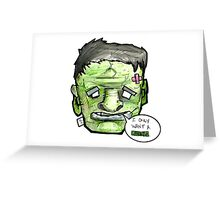 Incredible Sulk DEPRESSHEAD Greeting Card