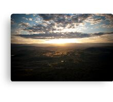 Telstra Tower, Canberra Canvas Print