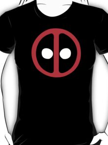 Marvel Comics Deadpool Icon Logo T-Shirt