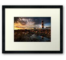 St Johns Point Lighthouse Framed Print