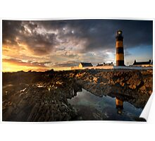 St Johns Point Lighthouse Poster