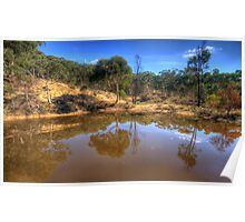 Reflections In Time - Hill End , NSW Australia - The HDR Experience Poster