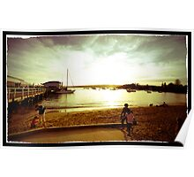 Lazy Autumn Afternoon at Watsons Bay, Sydney Poster