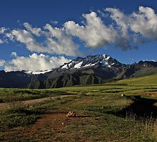 View from Chinchero by Oli Johnson