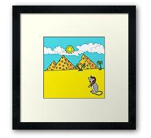 Cheese Pharaoh Framed Print
