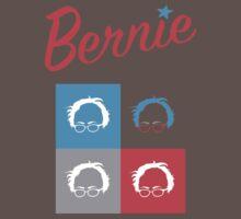 Retro Bernie Hair Shirt - Pop Art Pattern One Piece - Short Sleeve