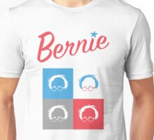 Retro Bernie Hair Shirt - Pop Art Pattern Unisex T-Shirt
