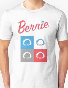 Retro Bernie Hair Shirt - Pop Art Pattern T-Shirt