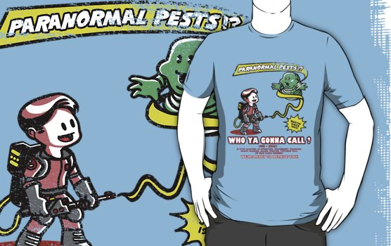 Paranormal Pest Exterminators by ninjaink