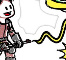Paranormal Pest Exterminators Sticker